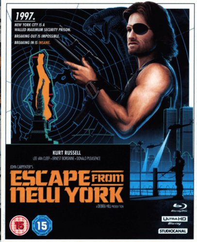 Escape from New York 4K 1981