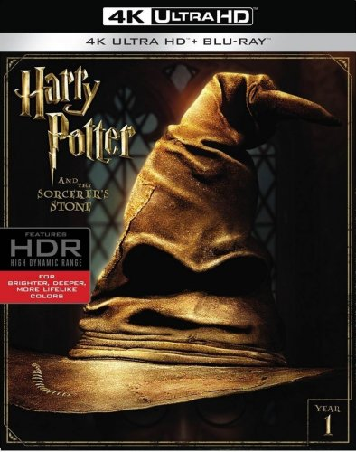 Harry Potter and the Sorcerer's Stone 2001 4K