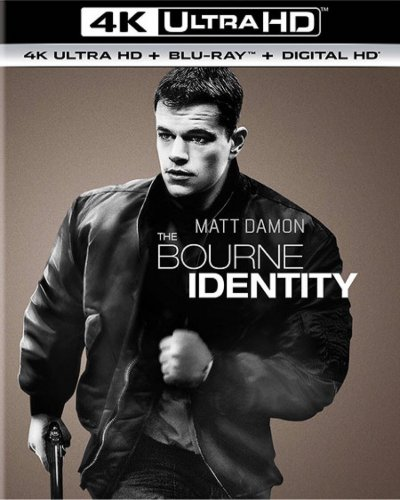 The Bourne Identity 4K 2002