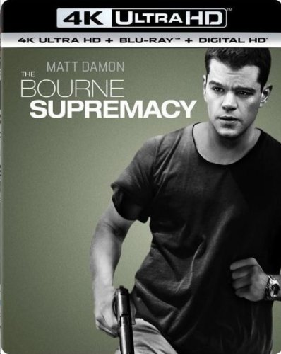 The Bourne Supremacy 4K 2004