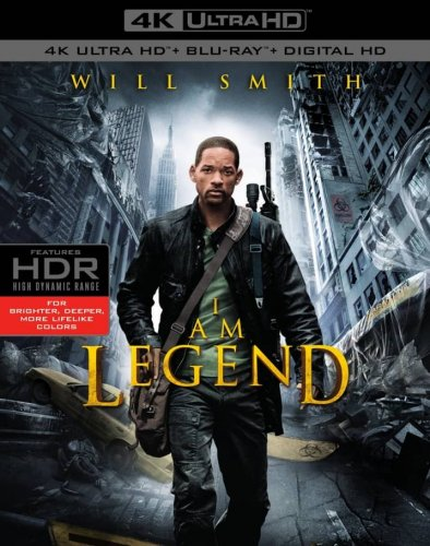 I Am Legend 4K 2007