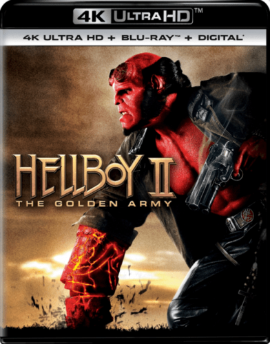 Hellboy II The Golden Army 4K 2008
