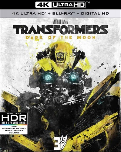 Transformers Dark of the Moon 4K 2011
