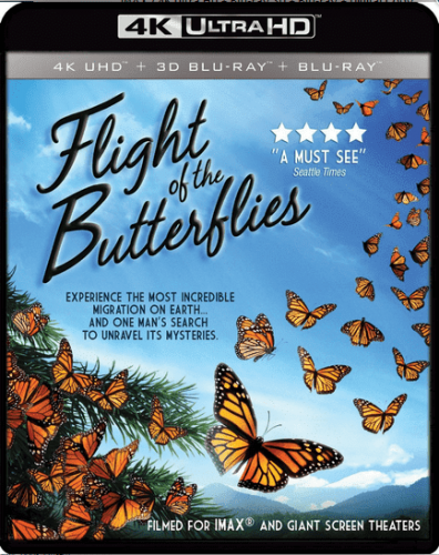 Flight of the Butterflies 4K 2012 DOCU
