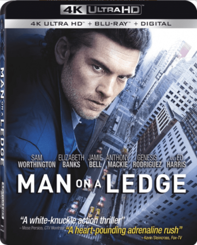 Man on a Ledge 4K 2012