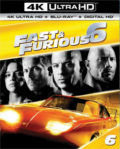 Fast and Furious 6 4K 2013 EXTENDED