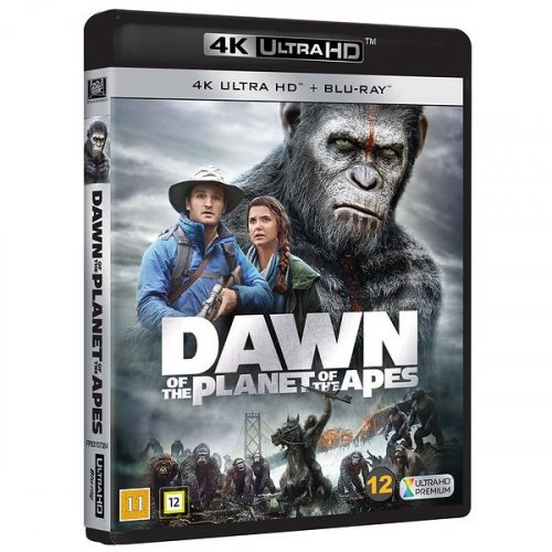 Dawn of the Planet of the Apes 4K 2014
