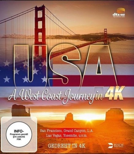 USA A West Coast Journey 4K 2014 DOCU