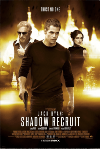 Jack Ryan: Shadow Recruit 4K 2014