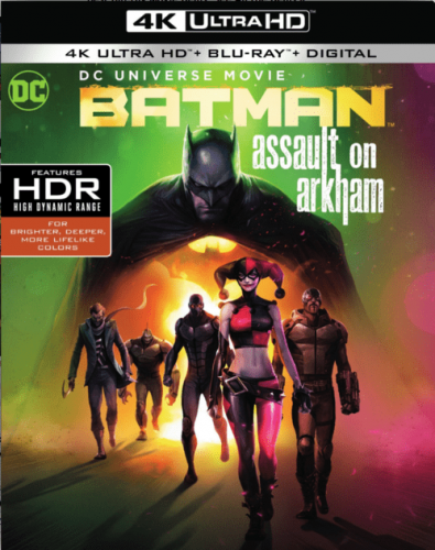 Batman: Assault on Arkham 4K 2014