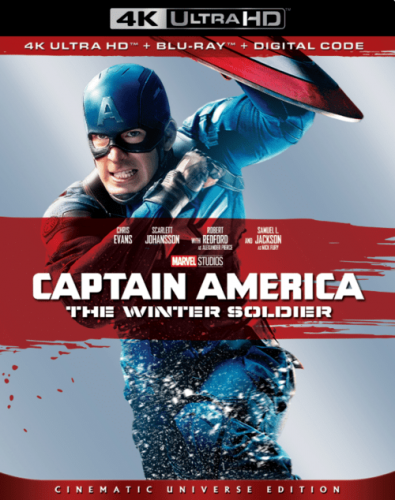 Captain America The Winter Soldier 4K 2014
