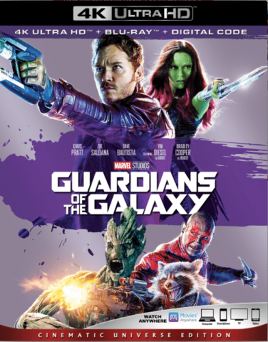 Guardians of the Galaxy 4K 2014