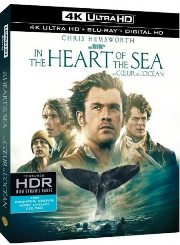 In the Heart of the Sea 4K 2015
