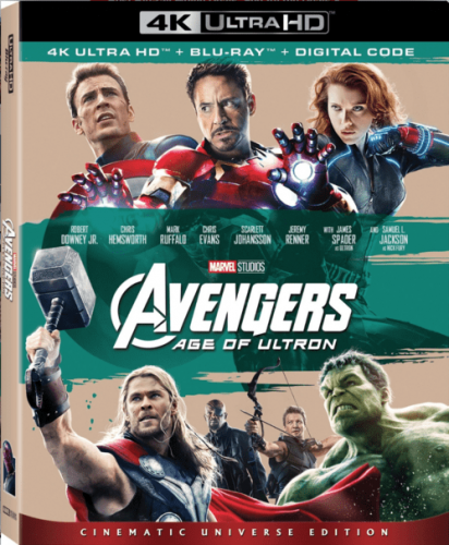 Avengers: Age of Ultron 4K 2015