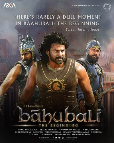 Bahubali: The Beginning 4K 2015