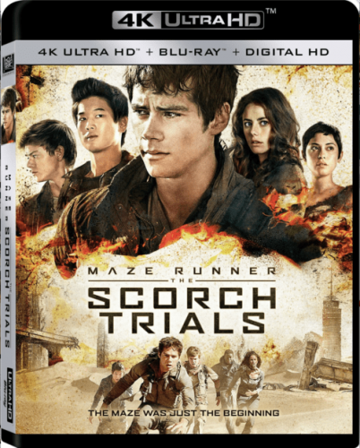 Maze Runner: The Scorch Trials 4K 2015