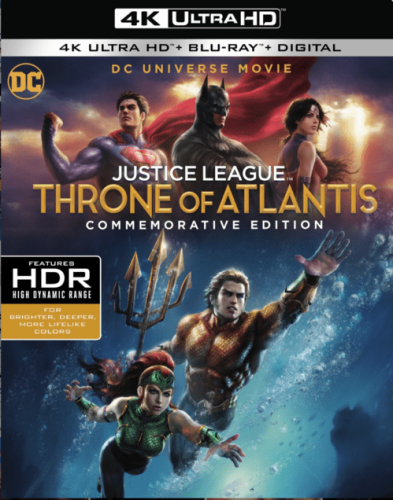 Justice League: Throne of Atlantis 4K 2015