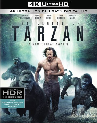The Legend of Tarzan 4K 2016