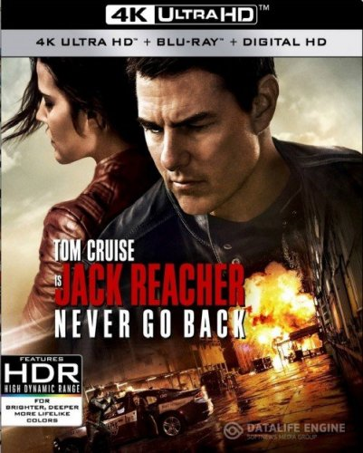 Jack Reacher Never Go Back 4K 2016