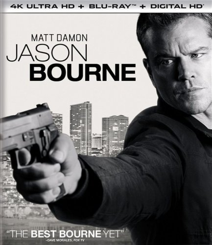 Jason Bourne 4K 2016