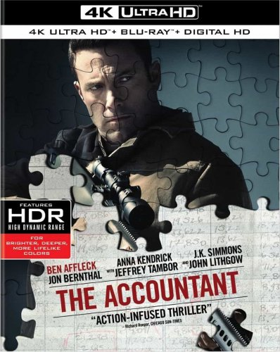 The Accountant 4K 2016