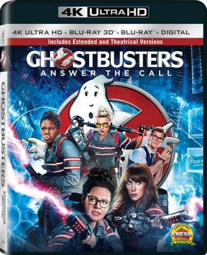 Ghostbusters 4K 2016 EXTENDED