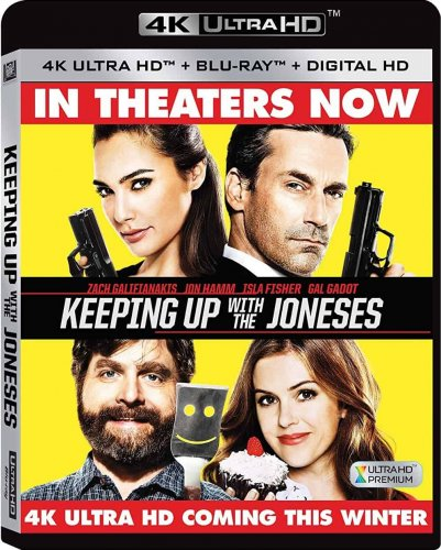 Keeping Up with the Joneses 4K 2016