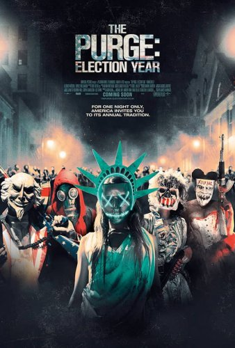 The Purge: Election Year 4K 2016