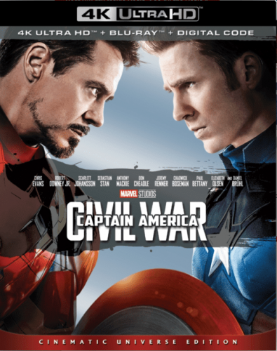 Captain America Civil War 4K 2016