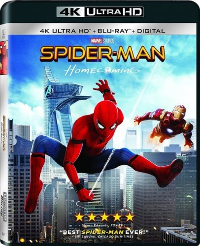 Spider-Man Homecoming 4K 2017