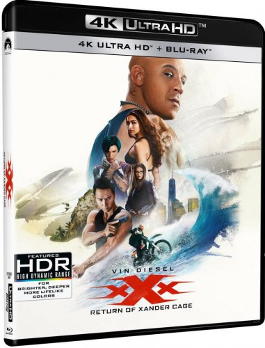 xXx Return of Xander Cage 4K 2017
