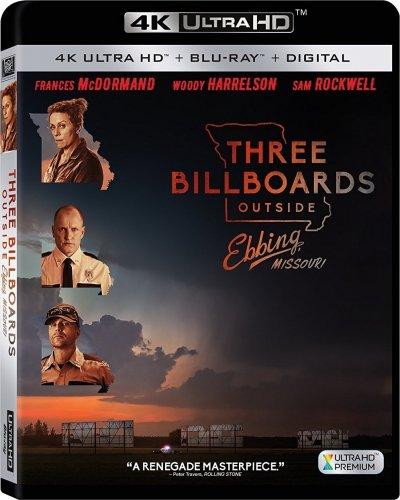 Three Billboards Outside Ebbing, Missouri 4K 2017