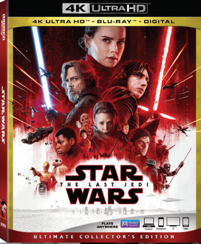 Star Wars Episode VIII - The Last Jedi 4K 2017