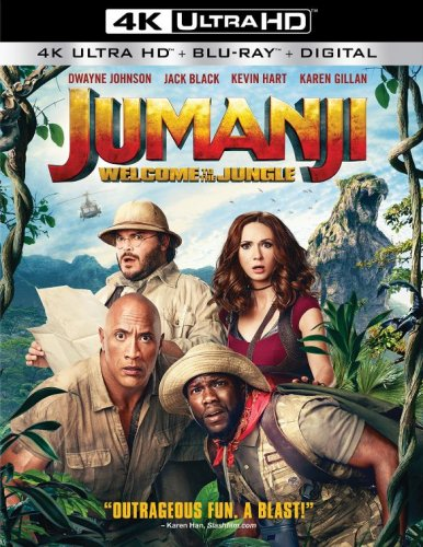 Jumanji: Welcome to the Jungle 4K 2017