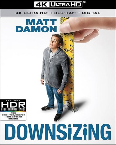 Downsizing 4K 2017