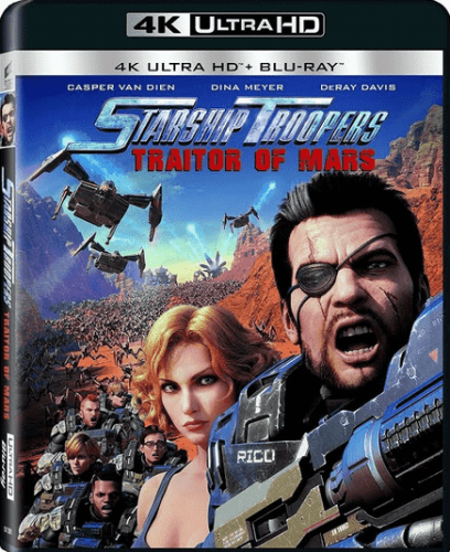 Starship Troopers: Traitor of Mars 4K 2017