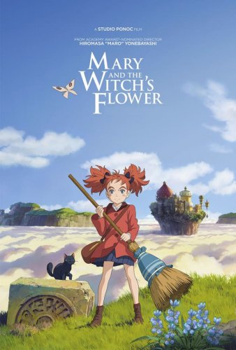 Mary and the Witch's Flower 4K 2017 Japanese