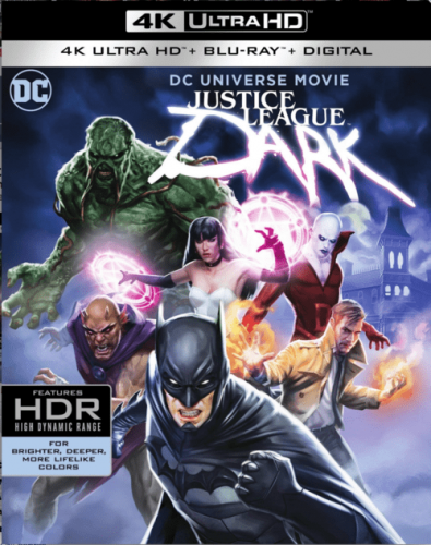 Justice League Dark 4K 2017