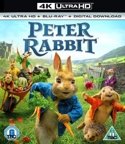 Peter Rabbit 4K 2018