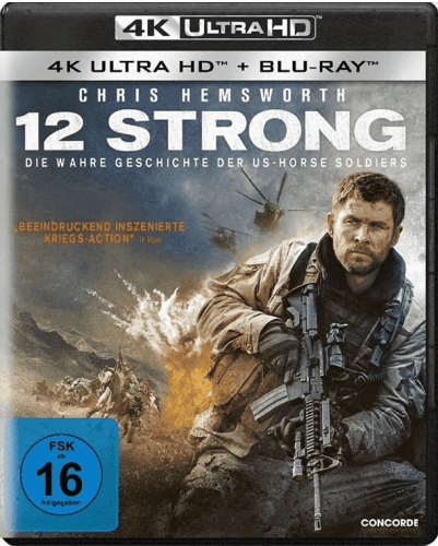 12 Strong 4K 2018