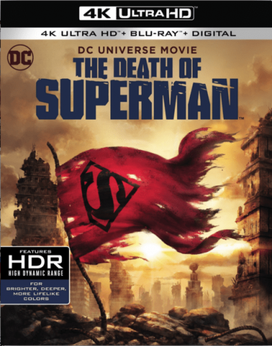 The Death of Superman 4K 2018