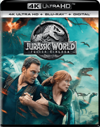 Jurassic World: Fallen Kingdom 4K 2018