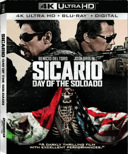 Sicario: Day of the Soldado 4K 2018