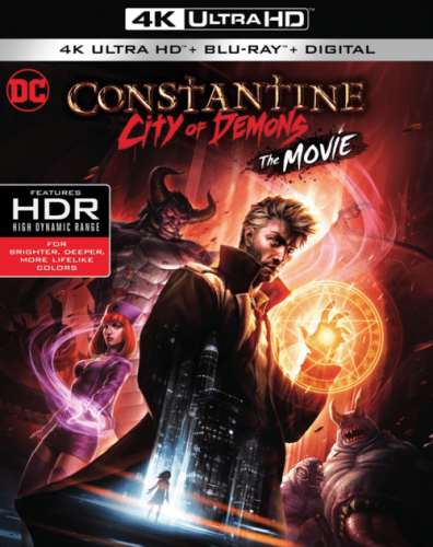 Constantine: City of Demons 4K 2018