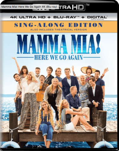 Mamma Mia! Here We Go Again 4K 2018