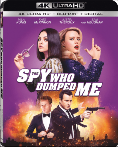 The Spy Who Dumped Me 4K 2018