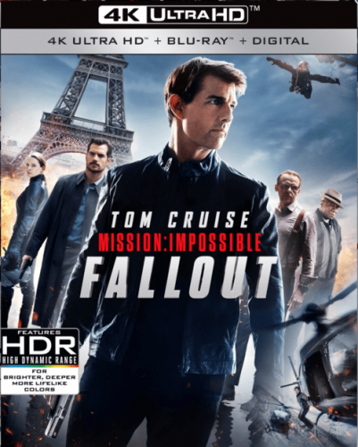 Mission: Impossible - Fallout 4K 2018