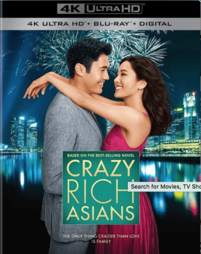 Crazy Rich Asians 4K 2018