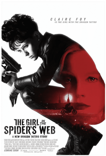 The Girl in the Spiders Web 4K 2018