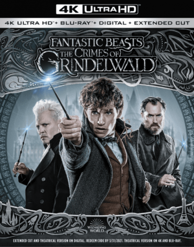 Fantastic Beasts The Crimes Of Grindelwald 4K 2018